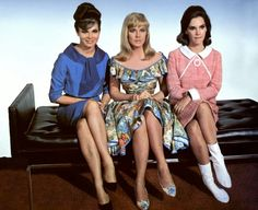 Gila Golan, Leslie Parrish & Mary-Ann Mobley  in Three on a Couch (1966)