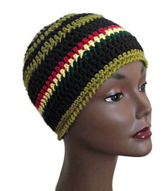 Unisex Jah Army Crochet Beanie by LionessXpressions on Etsy, $17.99