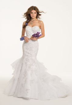 Camille La Vie Strapless and Tiered Wedding Dresses and Bridal Gowns