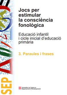 I'm reading Jocs Estimular Cons Fon on Scribd Del Conte, English Time, Brain Gym, Phonological Awareness, Language Lessons, Speech Therapy, Preschool Activities, Book Worms, Teaching