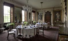 Badminton House dining room