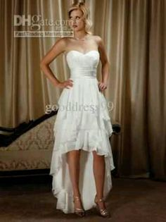Britt would TOTALLY wear that dress, except the heels, she most likely would wear boots instead!!