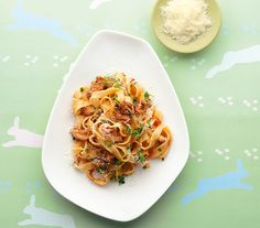 This simple but delicious rabbit and pasta recipe, with its lovely lean meat and light tomato sauce, is truly Italian.