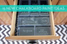 15 Inventive New Uses for Chalkboard Paint