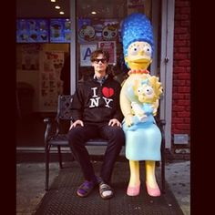 When he made a great Homer Simpson: | Community Post: 19 Times Matthew Gray Gubler Made You Love Him Even More