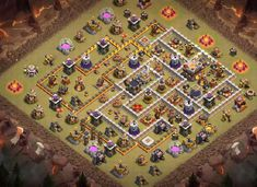 Best War Base Designs With **Links** Which are Anti Bowler, EDragons that can withstand competitive opponets attacks from anti 2 and 3 stars. Clash Of Clans Android, Clash Of Clans Game, Clan Castle, Nintendo Ds Pokemon, Video Game Memes, Pokemon Fusion, Gaming Memes, Pokemon Cards, Digimon