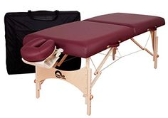 Oakworks One Portable Massage Table Package, Orchid *** You can get additional details at the image link.