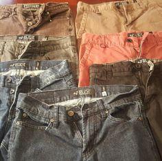 MEN'S WOW NICE LOT OF 7 HOT TOPIC RUDE 28/32 MEN'S WOW NICE LOT OF HOT TOPIC RUDE 28/32 Hot Topic Jeans Skinny