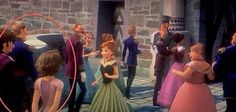 Rapunzel and Flynn Rider cameo in Frozen!