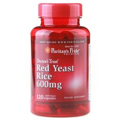 USA  Red Yeast Rice 600 mg-120 Capsules free shipping