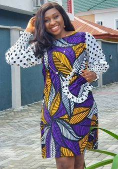 Latest African Fashion Dresses, African Dresses For Women, African Print Fashion, Africa Fashion, African Attire, Women's Fashion Dresses, Ankara Fashion, Casual Dresses, Ankara Dress Designs