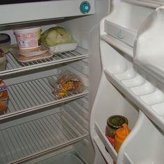"""An RV refrigerator can sometimes be revived by """"burping."""""""