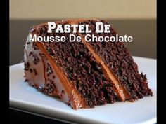 PASTEL DE CHOCOLATE (PASION POR EL CHOCOLATE) - Silvana Cocina y Manualidades - YouTube