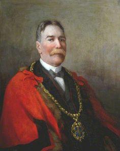 Robert McLean (1858–1930), JP, Mayor of Durham (1912  1922) by Lilian Kate Tuke