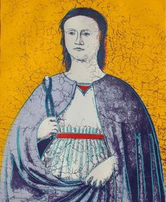 Saint Apollonia 1984 Gold Edition Hand Signed by Andy Warhol Andy Warhol Pop Art, Andy Warhol Bilder, Jamie Wyeth, Jean Michel Basquiat, Keith Haring, Saint Apollonia, James Rosenquist, Modern Art, Contemporary Art