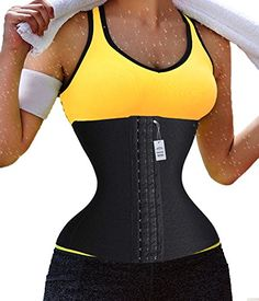 Gotoly Plus Size Long Torso Waist Trainer Fitness Body Shaper Running Slimming M Black -- Be sure to check out this awesome product.