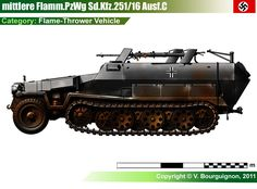 Sd.Kfz.251/16 Ausf.A/C Mg 34, Army Vehicles, Armored Vehicles, Military Drawings, German Soldiers Ww2, Military Pictures, Ww2 Tanks, World Of Tanks, Chenille