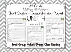 Wonders Reading 2nd Grade Unit 1 Week 1 Lesson Plan