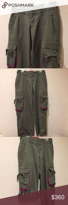 Nike dri fit cargo convertible adventure pants Nike dri fit cargo convertible adventure pants 🛑there is a small bleach stain the size of a penny on the bottom hem of the front right leg price adjusted for such Nike Pants