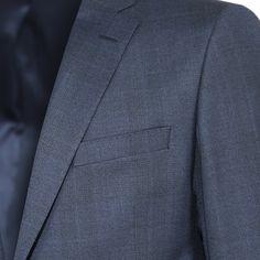 LACİVERT TAKIM ELBİSE - BacciOnline Ted Lapidus, Suit Jacket, Breast, Suits, Jackets, Fashion, Down Jackets, Moda, Fashion Styles