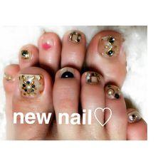 my nail #左右非対称 #nail