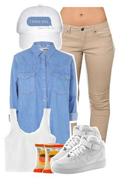 Remember me by kiaratee ❤ liked on Polyvore featuring Topshop and NIKE