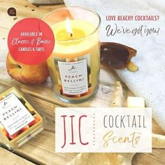 Our yummy cocktail #JICScents are perfect for #Spring Break (and any time really hehe) YUM!  www.DiscoverJICWithKelsey.com