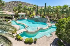 1187 Macdonald Ranch Dr, Henderson, NV 89012 is For Sale Luxury Swimming Pools, Luxury Pools, Dream Pools, Swimming Pools Backyard, Swimming Pool Designs, Pool Landscaping, Pool Spa, Amazing Swimming Pools, Lazy River Pool