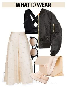 """""""OOTD"""" by dopegeezy ❤ liked on Polyvore featuring Natasha Zinko, Y.A.S, Vetements, Iala Díez, Monki and Cutler and Gross"""
