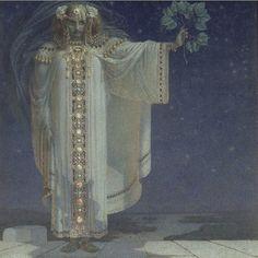 Karel Vítězslav Mašek - The prophetess Libuse
