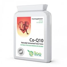 From Co-enzyme 90 Vegetarian Capsules - Naturally Fermented Trans Form For High Absorption - Uk Manufactured Gmp Quality Assured Supplement - Supports Energy Production Healthy Heart Function And Replenishes Coenzyme Levels Q10, Heart Function, Energy Supply, Energy Supplements, Energy Level, Vegan, Vitamins And Minerals, That Way, Natural Health
