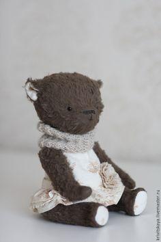 Купить Ofelia - коричневый, тедди, мишки тедди, татьяна кривицкая, авторская выкройка, ооак
