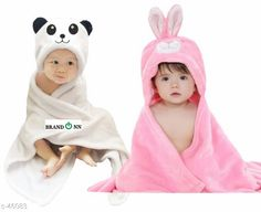 Bathrobes Stylish Baby Bathrobe Combo Material: Organic Cotton Dimension: 35in Ideal For: Baby Boys & Baby Girls Ideal Age: 1 Month to 12 Month Type: Bath Gown Fabric Care: Wash with Similar Colors Use Detergent for Colors Description: It Has 2 Pice of Bathrobe Country of Origin: India Sizes Available: Free Size   Catalog Rating: ★4.1 (2759)  Catalog Name: Baby Bathrobes CatalogID_4838 C63-SC1324 Code: 815-46083-0921