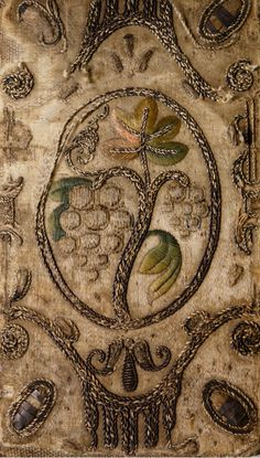 english-idylls:  Embroidered Bible: English Authorised (1645-1646), University of Glasgow Library.