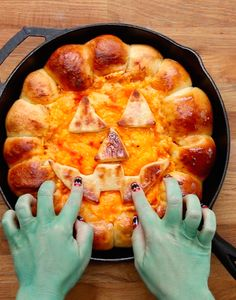 Buffalo Chicken Skillet Dip and These Three Other  Halloween Apps May Scare The Crap Out Of You