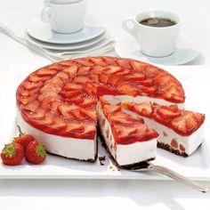 Tarte à la fraise | Recette Minceur | Weight Watchers