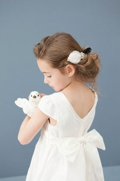 Mini mode on pinterest dolce gabbana robes and kids for Cyrillus robe ceremonie fille