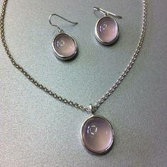 #precious_pagrati #jewellery #handmade #crystals #gemstones #pink_quartz #silver #earrings #pendant