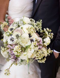 The bouquet that looked like it was plucked from a nearby meadow.