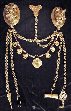 Viking age women's jewelry set by Epic Arts, via Flickr