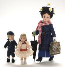 mary poppins dolls by photo*fly*girl, via Flickr