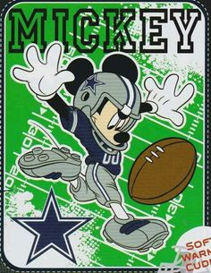 See even Mickey loves Dem boys Dallas Cowboys Decor, Dallas Cowboys Pictures, Dallas Football, Cowboys 4, Dallas Cowboys Football, Nfl Raiders, Oakland Raiders, Cowboy Love, Mickey Mouse Art