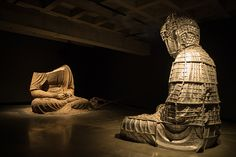 A sculpture of Buddha at the Museum of Old and New Art, Hobart