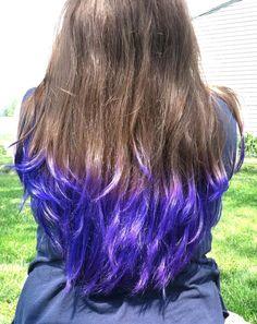 Venus Loves Virgo: TREND: Dip Dyed Hair Tips + An Easy DIY Ponytail Trick