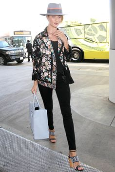 Shop Rosie Huntington-Whitley's perfect summer block heel sandals: