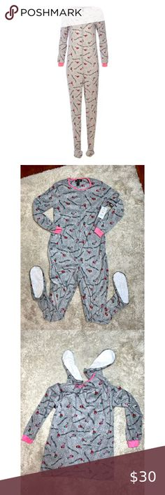 Santa/'s Baby its Cold Outside Penguin Christmas Romper All in One Sleepwear
