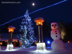 Joulupukin pajakylän lumiukko (Napapiiri, Rovaniemi)