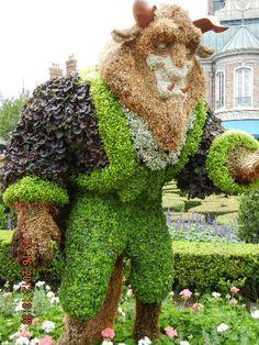 Epcot - 2012 Flower  Garden Festival.