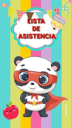 Cute Panda, Bb, Classroom, Education, Fictional Characters, Agenda Printable, Pandas, School, Class Room