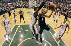 Spurs sweep the Utah Jazz in round one of the NBA Playoffs